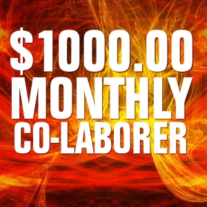 $1000.00 Monthly Co-Laborer