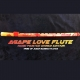 Agape Love Bamboo Flute Hand Painted Signed Edition
